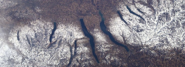 Finger Lakes from Space