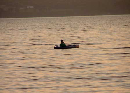 Cayuga Lake Canoe