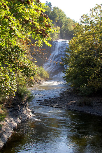 Ithaca Falls Gorge