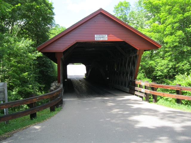 The Newfield Covered Bridge