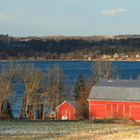 Near OWASCO Lake
